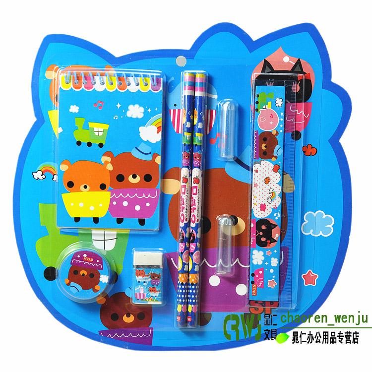 韩国文具套装礼盒批发儿童礼品学习用品小学生期末考试奖品幼儿园